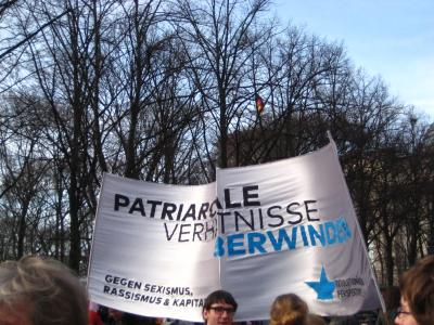 patriarchale Verhältnisse überwinden